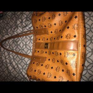 Authentic MCM tote handbag